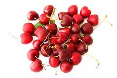 Hög av den mogna söta körsbäret Royaltyfri Bild