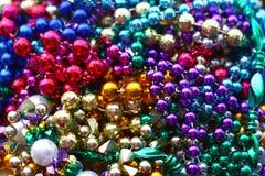 Hög av färgrika pärlor Royaltyfri Fotografi