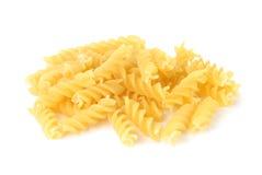 Hög av Fusilli pasta Royaltyfri Bild