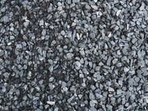 Hög av gråa blåa stenar Royaltyfri Bild