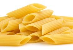 Hög av italiensk penne Arkivbilder