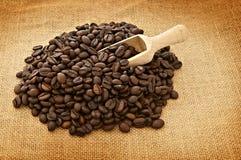 Hög av kaffe Royaltyfria Foton