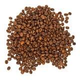 Hög av kaffekorn Royaltyfri Bild