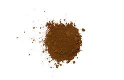 Hög av kaffepulver Royaltyfria Bilder