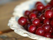 Hög av nya Cherry Fruits Royaltyfri Fotografi
