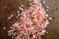 Hög av salta Himalayan rosa färger Royaltyfri Foto