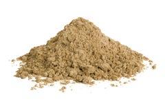 Hög av sand
