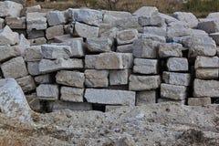 Hög av stenar Royaltyfri Foto