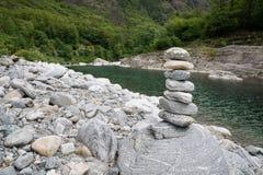 Hög av stenar Royaltyfri Fotografi