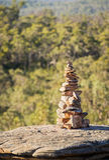 Hög av stenar Arkivbild