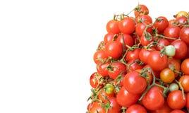Hög av tomater Arkivbild