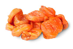 Hög av torkade aprikors Arkivfoton