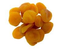 Hög av torkade aprikosar Royaltyfria Foton