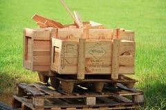 Hög av trä Fotografering för Bildbyråer