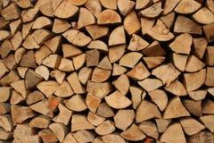 Hög av trä Royaltyfri Bild