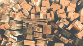 Hög av trä arkivbilder
