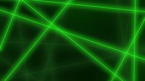 hög bakgrund - tech Abstrakta gröna linjer korsningar framförande 3d Vektor Illustrationer