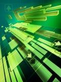 hög bakgrund - teknologi Arkivbild