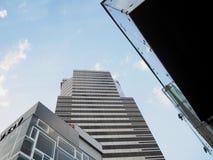 hög bangkok byggnad royaltyfria foton