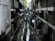 hög bangkok byggnad Fotografering för Bildbyråer