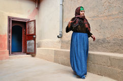Hög berberkvinna Arkivbilder