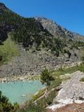 hög bergig kuiguklake Arkivbilder