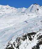 hög bergjärnväg arkivbilder