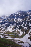 hög bergsikt för höjd Royaltyfria Foton