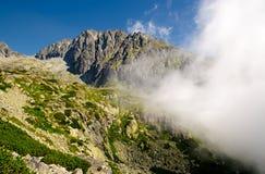 hög bergslovakia tatra Royaltyfria Bilder