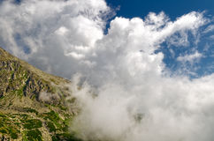 hög bergslovakia tatra Arkivfoton