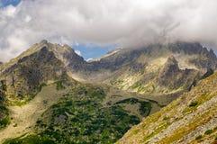 hög bergslovakia tatra Royaltyfria Foton
