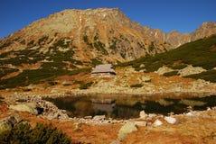 hög bergtatra Arkivfoto