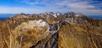 hög bergtatra Arkivfoton