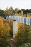Hög bro i Cuenca Royaltyfria Foton
