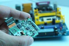 hög chip - teknologi Arkivbilder