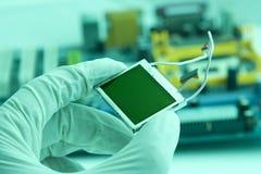 hög chip - teknologi Fotografering för Bildbyråer