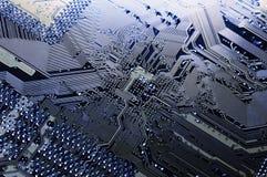 hög circuitboard - tech royaltyfri fotografi