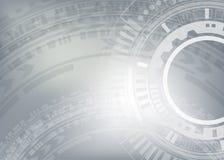 Hög datateknik för teknologibakgrund Arkivfoto