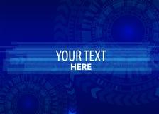 Hög datateknik för teknologibakgrund Royaltyfria Bilder