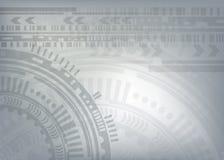 Hög datateknik för teknologibakgrund Arkivbild
