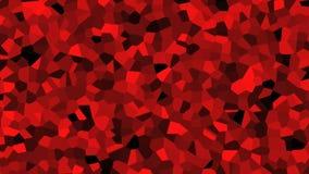 Hög definitionbackgrond för röd kristall vektor illustrationer
