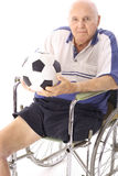 hög fotboll Royaltyfri Bild