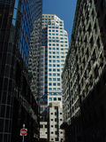 hög gata Arkivbild