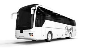 HÖG GRUPP Buss vektor illustrationer