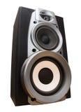 hög högtalare fotografering för bildbyråer