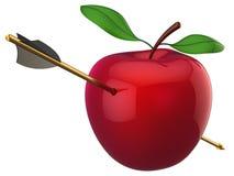 hög hit res för äpplepil royaltyfri illustrationer