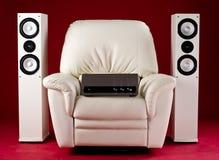 hög home stereo för fi Royaltyfria Foton