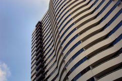 hög hotellstigning Royaltyfri Fotografi