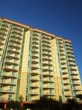 hög hotellstigning Arkivfoto