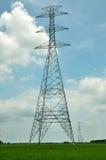 hög inaktiv stolpespänning för elektricitet Arkivfoton
